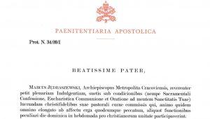 Krakowskie nabożeństwo centralne ze szczególnym przywilejem