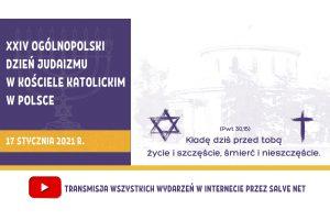Ogólnopolski XXIV Dzień Judaizmu w Kościele katolickim w Polsce